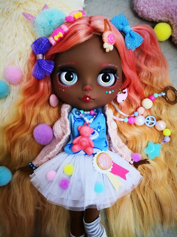 Aya - Custom Blythe Doll One-Of-A-Kind OOAK Sold-out Custom Blythes