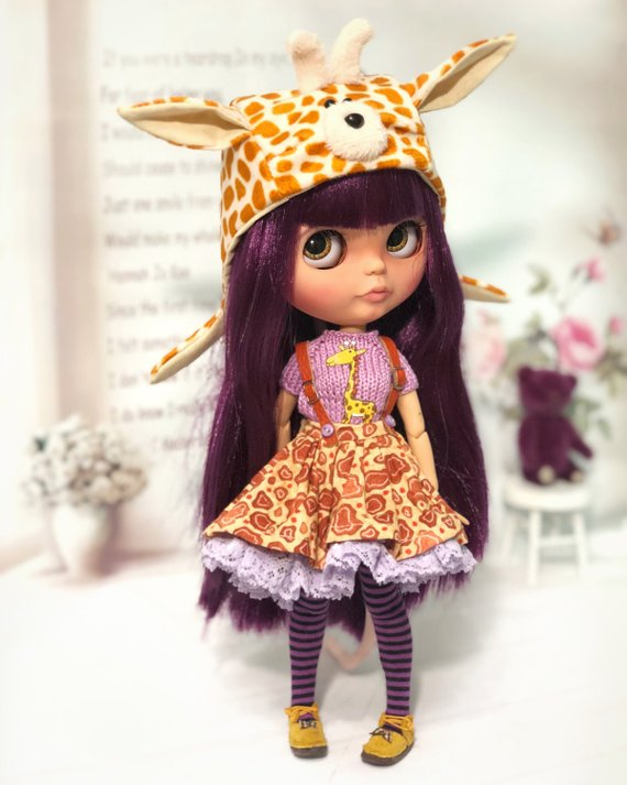 Ruth - Custom Blythe Doll One-Of-A-Kind OOAK Sold-out Custom Blythes