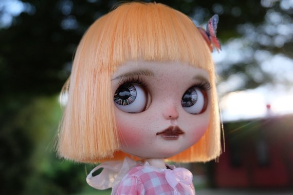 Mango - Custom Blythe Doll One-Of-A-Kind OOAK Sold-out Custom Blythes