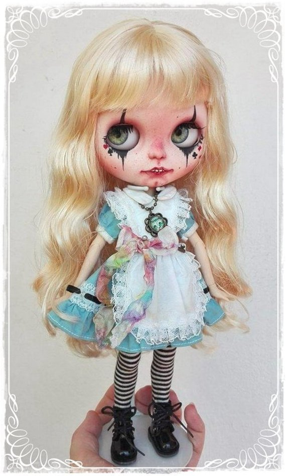 Alice - Custom Blythe Doll One-Of-A-Kind OOAK Sold-out Custom Blythes