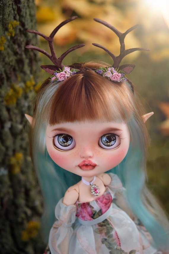 Mira - Custom Blythe Doll One-Of-A-Kind OOAK Sold-out Custom Blythes
