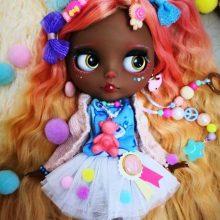 Aya – Custom Blythe Doll OOAK