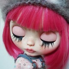 June – Custom Blythe Doll OOAK