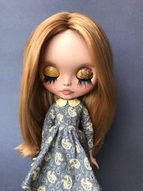 Jaliyah - Custom Blythe Doll One-Of-A-Kind OOAK Sold-out Custom Blythes
