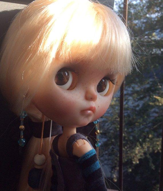 Ondine - Custom Blythe Doll One-Of-A-Kind OOAK Sold-out Custom Blythes