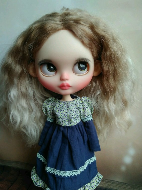 Kenzie - Custom Blythe Doll One-Of-A-Kind OOAK Sold-out Custom Blythes