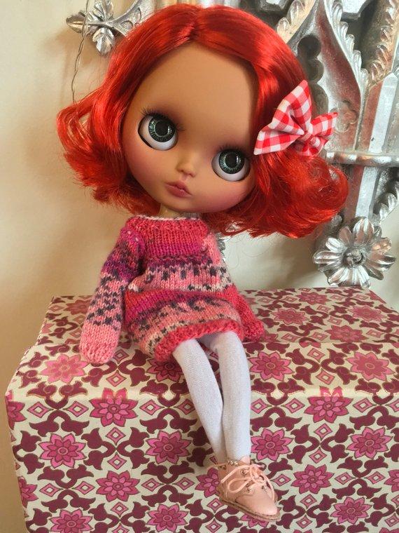 Kacie - Custom Blythe Doll One-Of-A-Kind OOAK Sold-out Custom Blythes