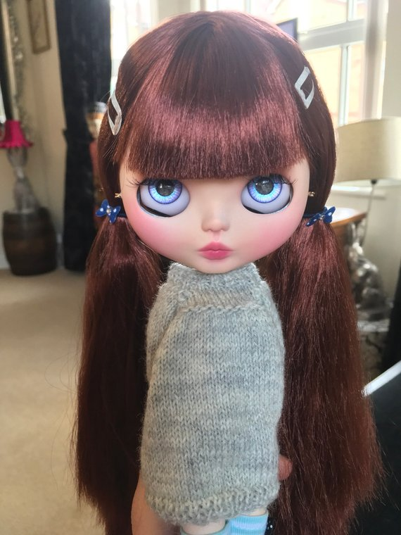 Delilah - Custom Blythe Doll One-Of-A-Kind OOAK Sold-out Custom Blythes