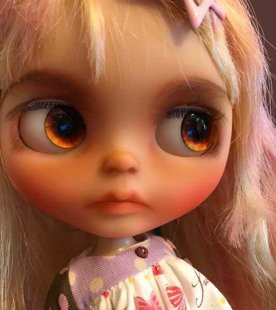 Mina – Custom Blythe Doll OOAK
