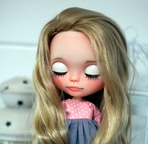 Lizzy - Custom Blythe Doll One-Of-A-Kind OOAK Sold-out Custom Blythes