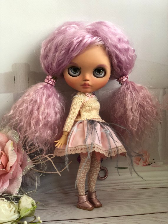 Aurelia - Custom Blythe Doll One-Of-A-Kind OOAK Sold-out Custom Blythes