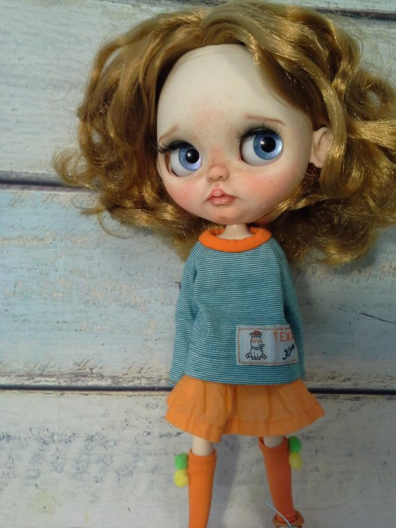 Aria - Custom Blythe Doll One-Of-A-Kind OOAK Sold-out Custom Blythes