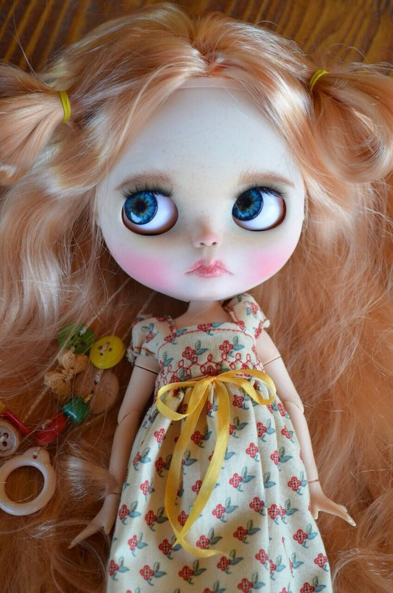 Natalee - Custom Blythe Doll One-Of-A-Kind OOAK Sold-out Custom Blythes