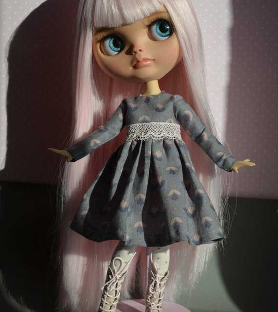 Kaylah – Custom Blythe Doll One-Of-A-Kind OOAK