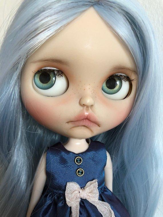 Keisha - Custom Blythe Doll One-Of-A-Kind OOAK Sold-out Custom Blythes