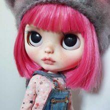 June – Custom Blythe Doll OOAK