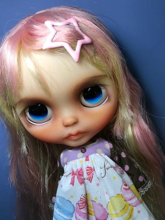 Mina - Custom Blythe Doll One-Of-A-Kind OOAK Sold-out Custom Blythes