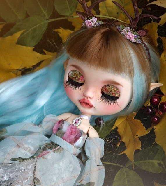 Mira – Custom Blythe Doll One-Of-A-Kind OOAK
