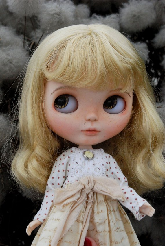 Sonia - Custom Blythe Doll One-Of-A-Kind OOAK Sold-out Custom Blythes
