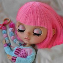 Hillary – Custom Blythe Doll OOAK