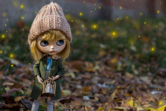 Essence - Custom Blythe Doll One-Of-A-Kind OOAK Sold-out Custom Blythes