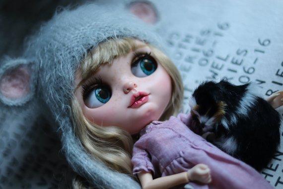 Savanna - Custom Blythe Doll One-Of-A-Kind OOAK Sold-out Custom Blythes