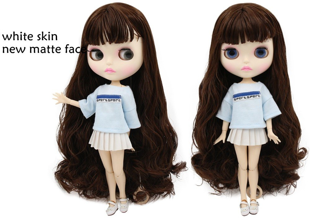 Butterfly – Premium Custom Blythe Doll with Pouty Face 1