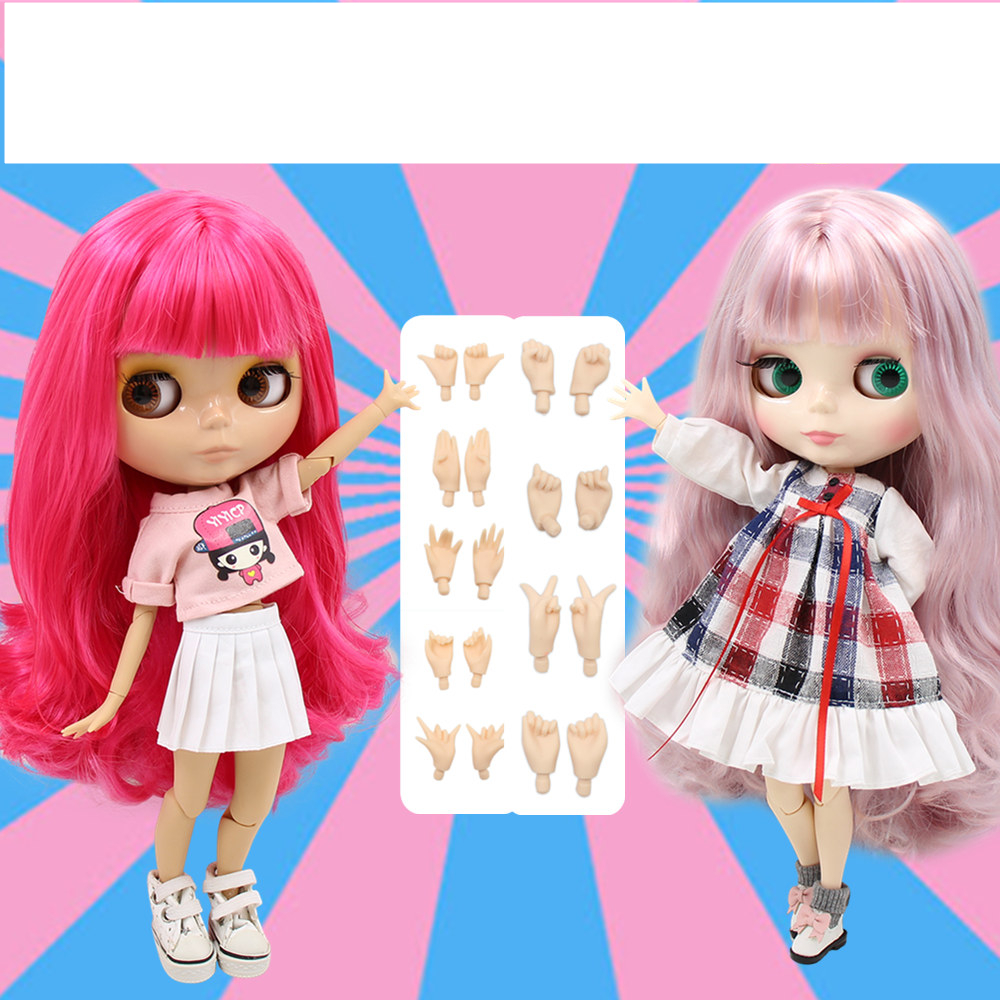 TBL Neo Blythe Doll Jointed Body Free Gifts Colorful Hair Blythe