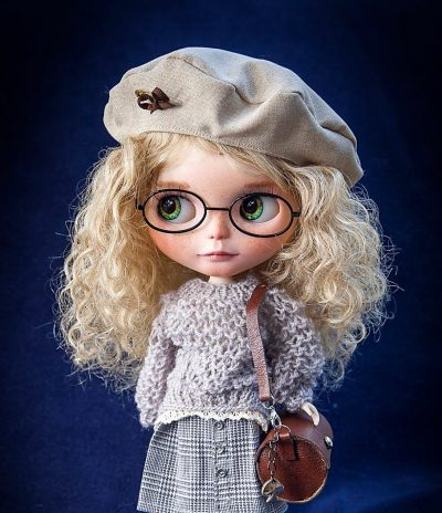 Skylar – Custom Blythe Doll One-Of-A-Kind OOAK Sold-out Custom Blythes