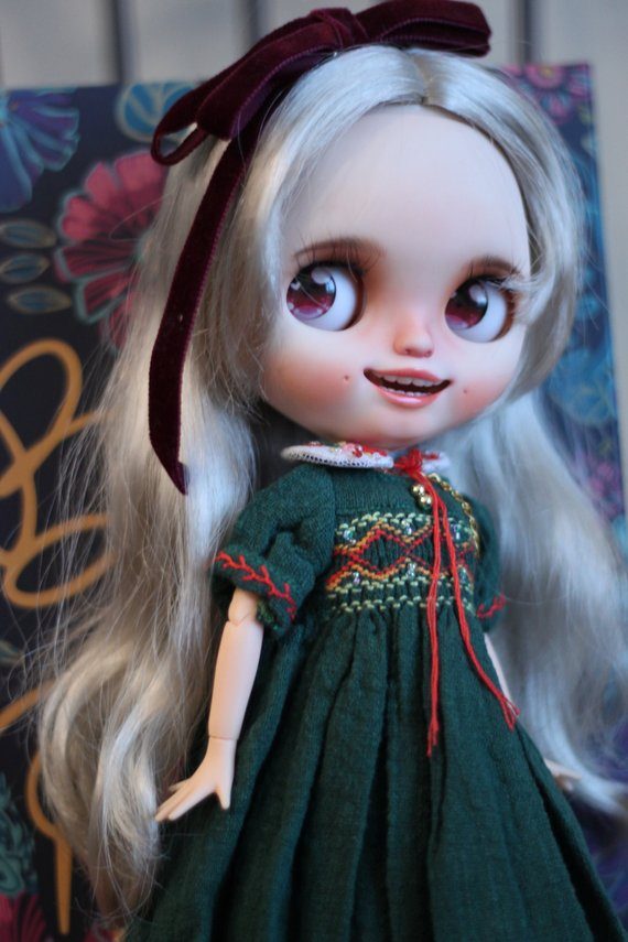 Micaela - Custom Blythe Doll One-Of-A-Kind OOAK Sold-out Custom Blythes