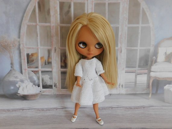 Shirley - Custom Blythe Doll One-Of-A-Kind OOAK Sold-out Custom Blythes