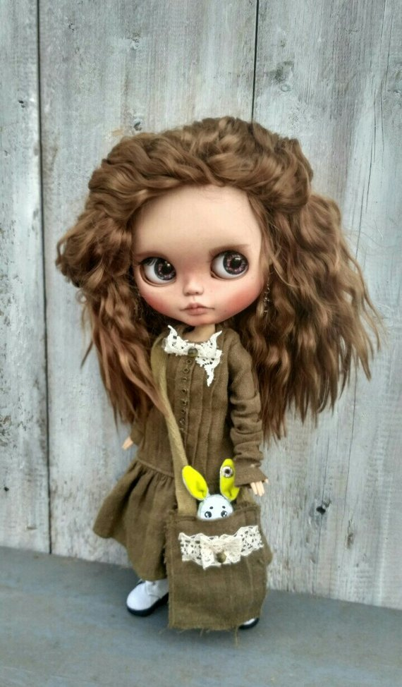 Irene - Custom Blythe Doll One-Of-A-Kind OOAK Sold-out Custom Blythes