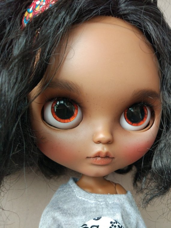 Maria - Custom Blythe Doll One-Of-A-Kind OOAK Sold-out Custom Blythes