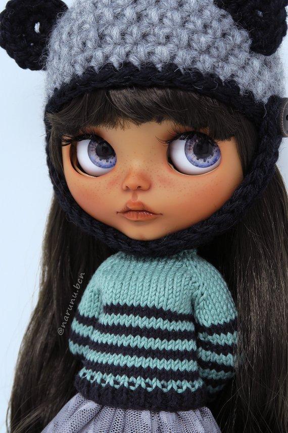 Tanisha - Custom Blythe Doll One-Of-A-Kind OOAK Sold-out Custom Blythes