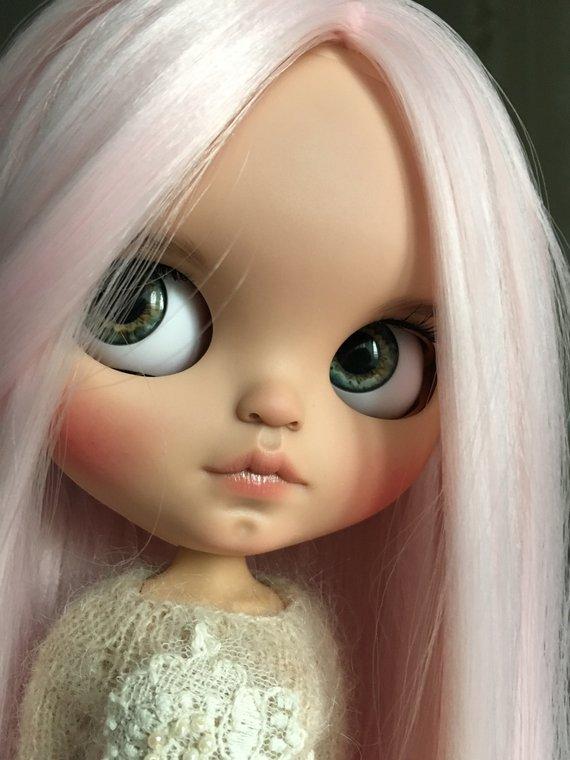 Luna - Custom Blythe Doll One-Of-A-Kind OOAK Sold-out Custom Blythes