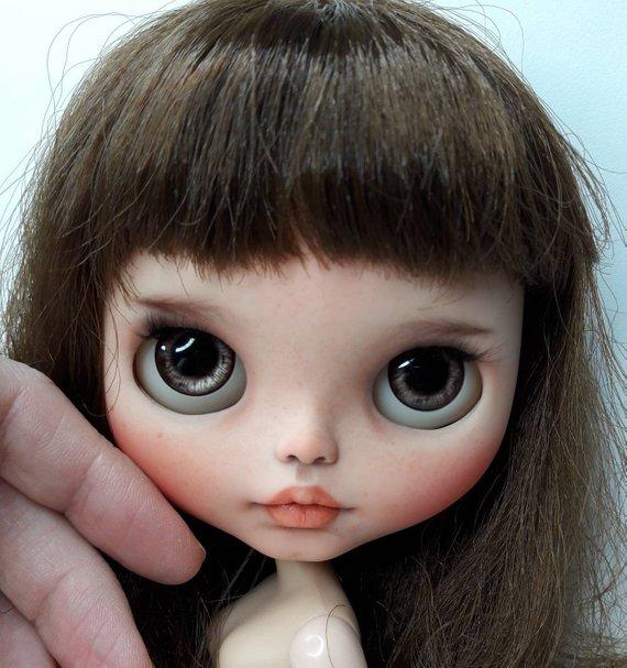 Caitlin - Custom Blythe Doll One-Of-A-Kind OOAK Sold-out Custom Blythes
