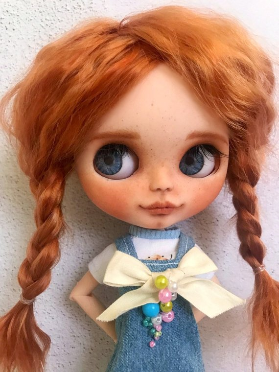 Peppie - Custom Blythe Doll One-Of-A-Kind OOAK Sold-out Custom Blythes