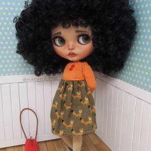 Ashia – Custom Blythe Doll OOAK