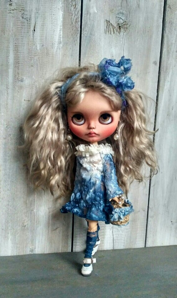 Avery - Custom Blythe Doll One-Of-A-Kind OOAK Sold-out Custom Blythes