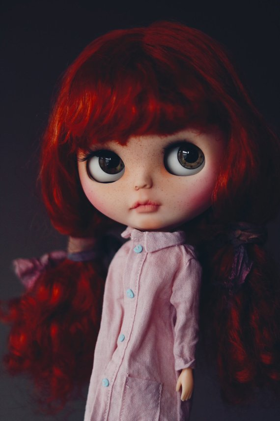 Danna - Custom Blythe Doll One-Of-A-Kind OOAK Sold-out Custom Blythes