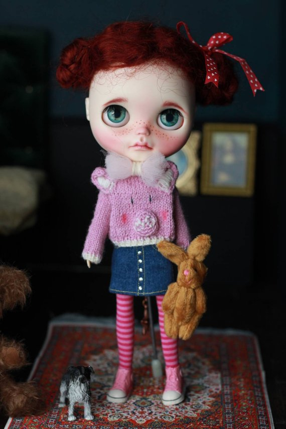 Rosie - Custom Blythe Doll One-Of-A-Kind OOAK Sold-out Custom Blythes