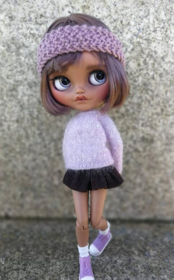 Nya - Custom Blythe Doll One-Of-A-Kind OOAK Sold-out Custom Blythes