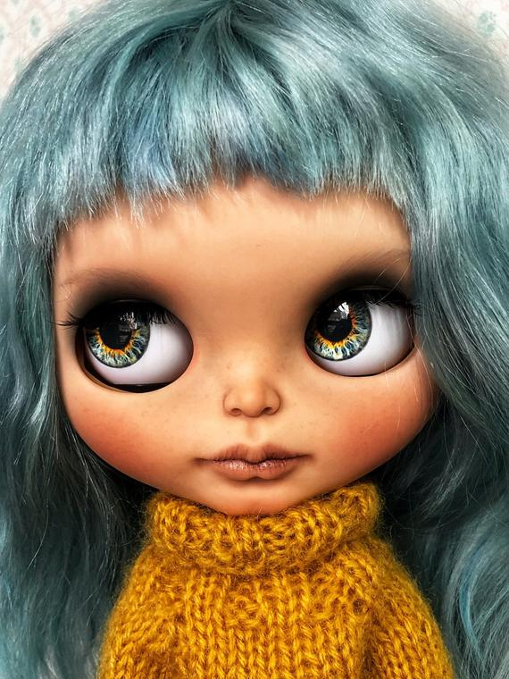 Marley - Custom Blythe Doll One-Of-A-Kind OOAK Sold-out Custom Blythes