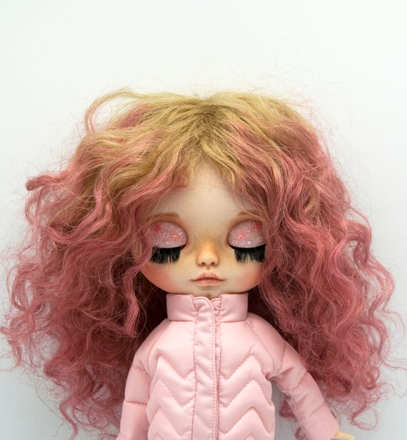 Kathy - Custom Blythe Doll One-Of-A-Kind OOAK Sold-out Custom Blythes