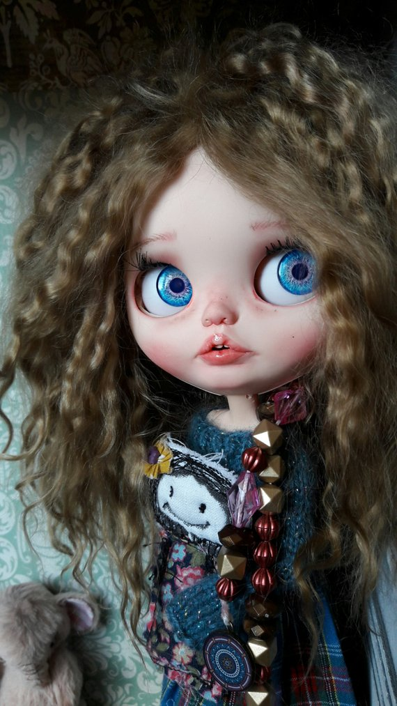 Amber - Custom Blythe Doll One-Of-A-Kind OOAK Sold-out Custom Blythes