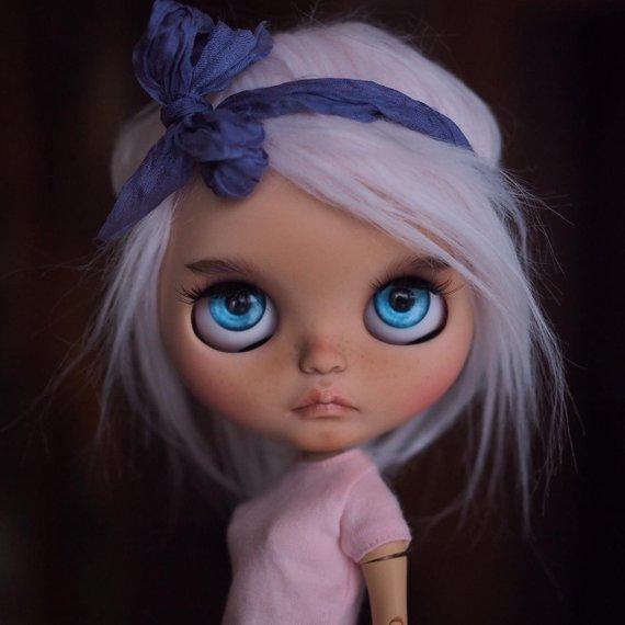 Iris – Custom Blythe Doll One-Of-A-Kind OOAK