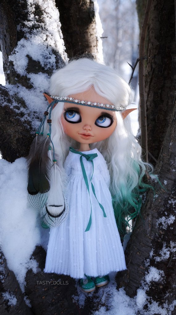 Aredhel - Custom Blythe Doll One-Of-A-Kind OOAK Sold-out Custom Blythes
