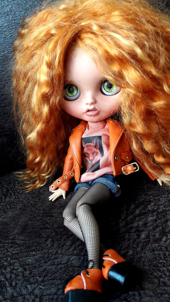 Jessica - Custom Blythe Doll One-Of-A-Kind OOAK Sold-out Custom Blythes