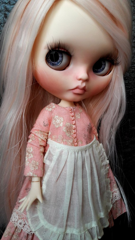 Elizabeth - Custom Blythe Doll One-Of-A-Kind OOAK Sold-out Custom Blythes