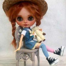 Peppie – Custom Blythe Doll OOAK
